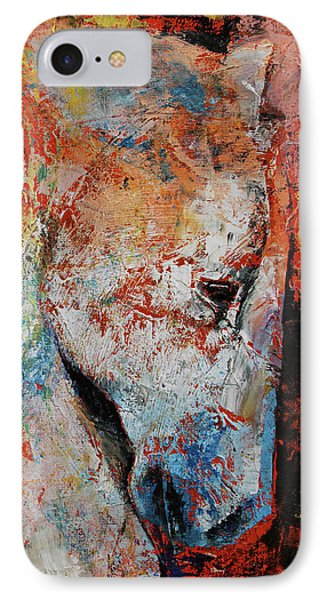 War Horse IPhone Case by Michael Creese
