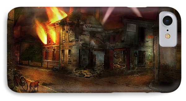 IPhone Case featuring the photograph War - Wwi - Not Fit For Man Or Beast 1910 by Mike Savad