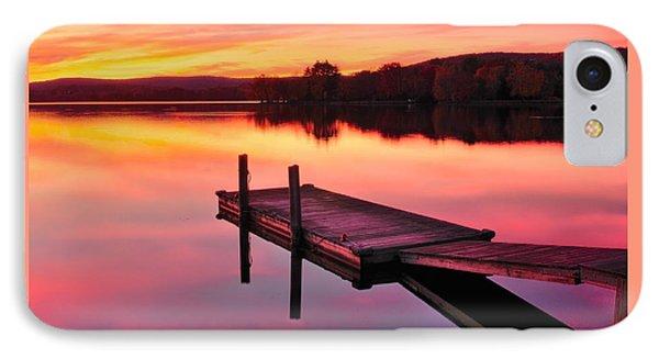 Waramaug Sunset Phone Case by Thomas Schoeller