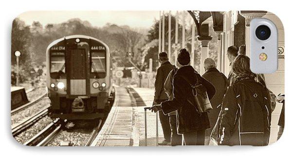 Wareham Commute  IPhone Case by Rob Hawkins