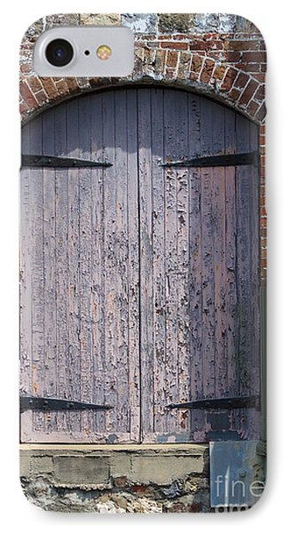 Warehouse Wooden Door Phone Case by Thomas Marchessault