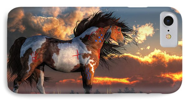 Warhorse IPhone Case by Daniel Eskridge