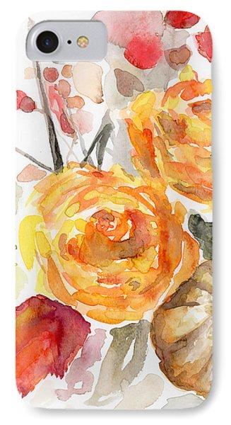 Warm Autumn IPhone Case by Arleana Holtzmann
