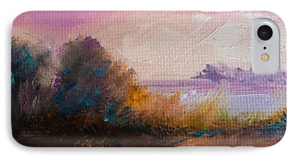 Warm Colorful Landscape IPhone Case