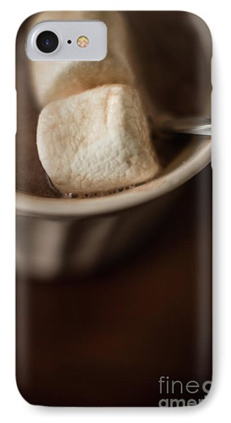 Warm Hot Coco And Marshmallows IPhone Case by Taylor Martinsen
