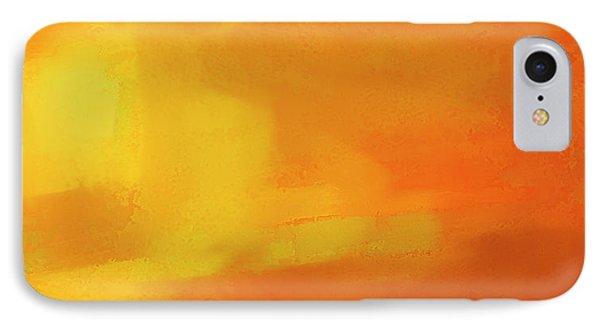 IPhone Case featuring the digital art Warm Moment by John Hansen