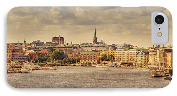 Warm Stockholm View IPhone Case by RicardMN Photography