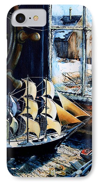 Warm Winter Pastime IPhone Case by Hanne Lore Koehler