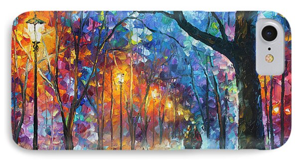 Warmed By Love Phone Case by Leonid Afremov