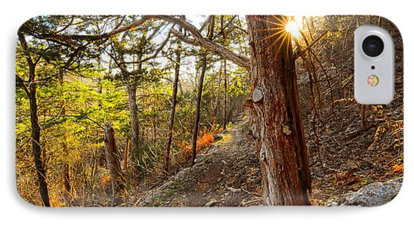 Warmth Of Comfort - Blowing Springs Trail In Bella Vista Arkansas IPhone Case