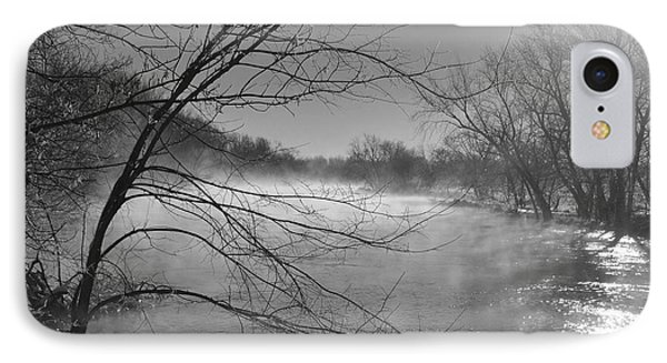 Warmth Vs. Cold IPhone Case by Peggy Day