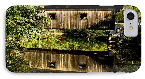 Warner Covered Bridge Phone Case by Greg Fortier