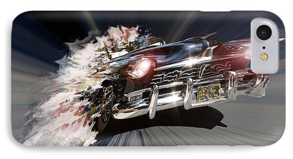 IPhone Case featuring the photograph Warp Speed by Christopher Woods