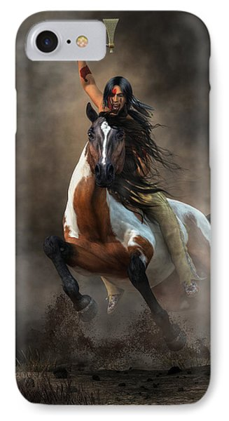 Warrior IPhone Case by Daniel Eskridge