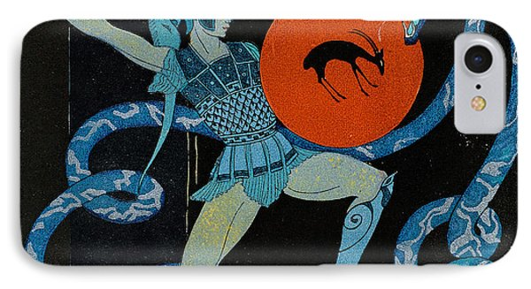 Warrior IPhone Case by Georges Barbier