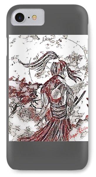 Warrior Moon Anime IPhone Case by Vennie Kocsis
