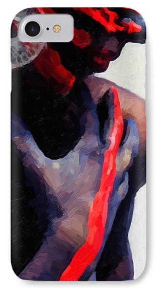 IPhone Case featuring the digital art Warrior Princess by Serge Averbukh
