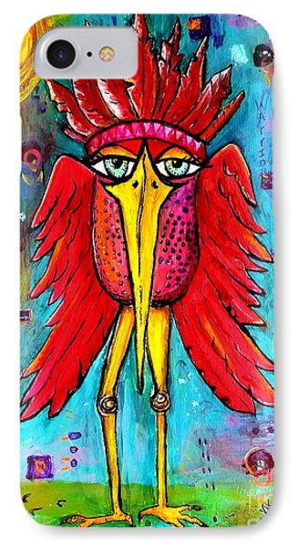 Warrior Spirit IPhone Case by Vickie Scarlett-Fisher