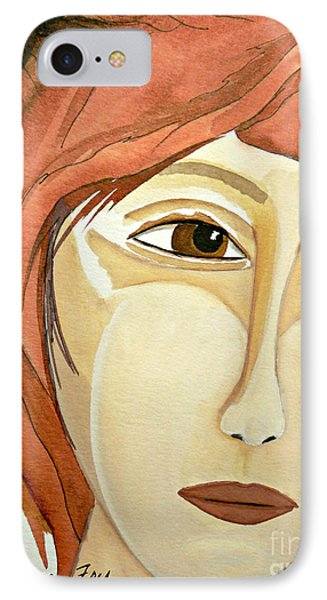 Warrior Woman - No Apologies Phone Case by Jean Fry