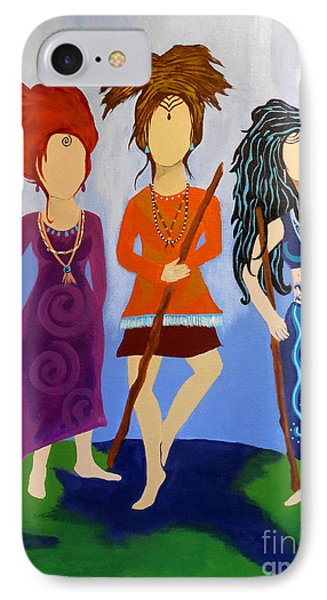 Warrior Woman Sisterhood Phone Case by Jean Fry