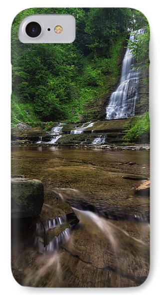 IPhone Case featuring the photograph Warsaw Falls 2 by Mark Papke