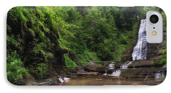 IPhone Case featuring the photograph Warsaw Falls by Mark Papke