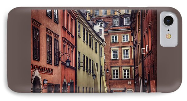 Warsaw Old Town Charm IPhone Case by Carol Japp