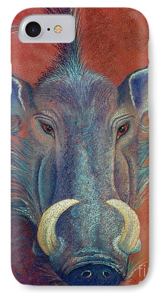 Warthog Defiance Phone Case by Tracy L Teeter