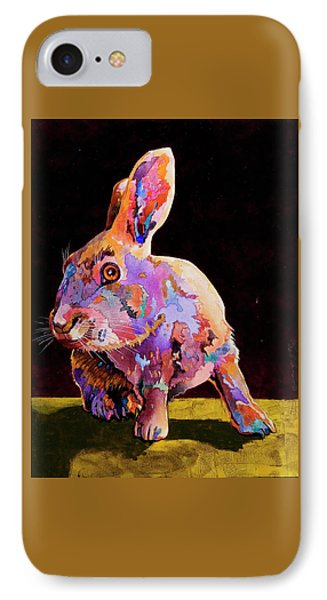 IPhone Case featuring the painting Wary by Bob Coonts