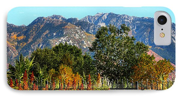 Wasatch Mountains In Autumn IPhone Case by Tracie Kaska