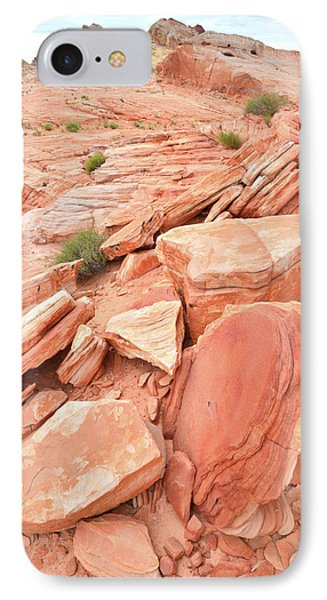 IPhone Case featuring the photograph Wash 4 Color In Valley Of Fire by Ray Mathis