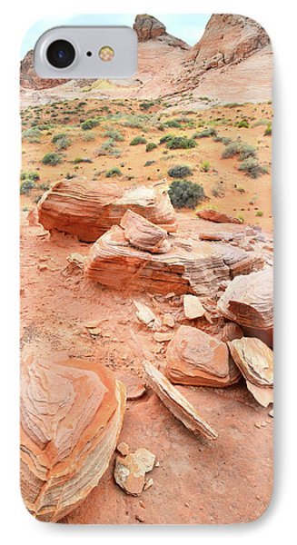 IPhone Case featuring the photograph Wash 4 In Valley Of Fire by Ray Mathis