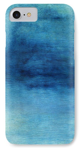 Wash Away- Abstract Art By Linda Woods IPhone Case by Linda Woods