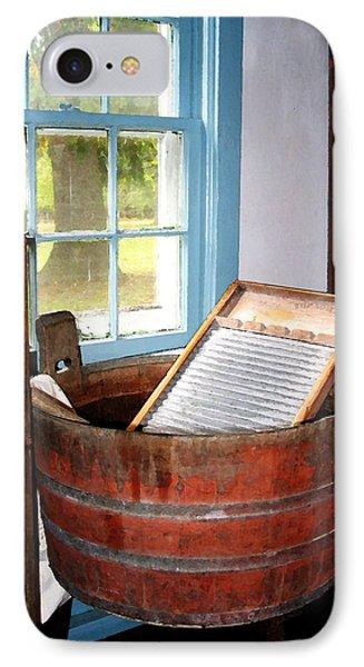Washboard IPhone Case by Susan Savad