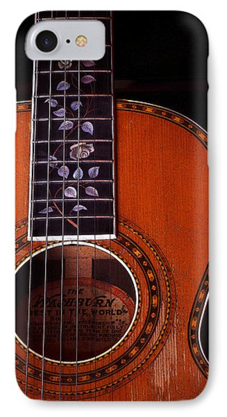 IPhone Case featuring the photograph Washburn Guitar by Jim Mathis