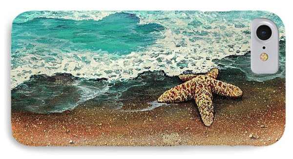 IPhone Case featuring the painting Washed A Shore by Darice Machel McGuire
