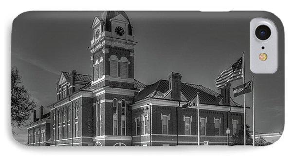 Washington County Courthouse 2 Art IPhone Case