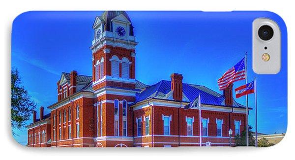 Washington County Courthouse Art IPhone Case