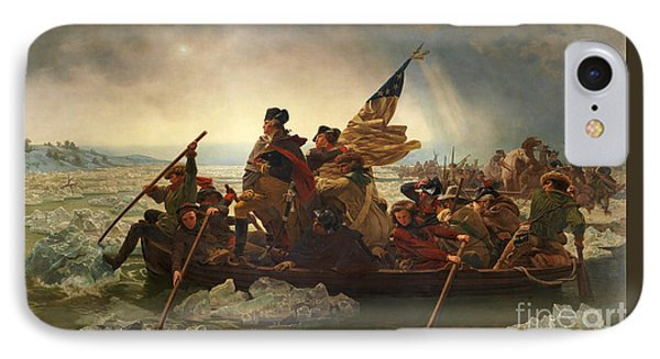 Washington Crossing The Delaware IPhone Case by John Stephens