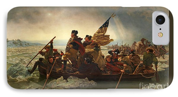 IPhone Case featuring the photograph Washington Crossing The Delaware by John Stephens