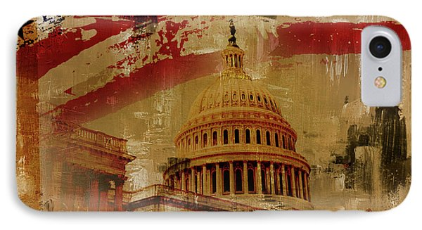 Washington Dc IPhone Case by Gull G