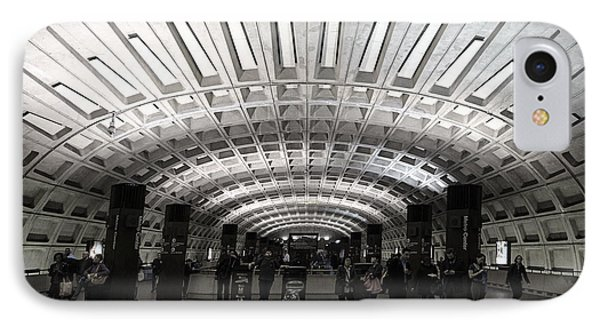 Washington Dc Metro Metro Center Stop IPhone Case