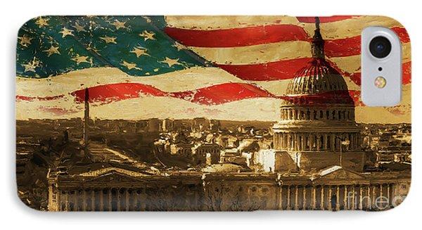 Washington Dc Usa 002 IPhone Case