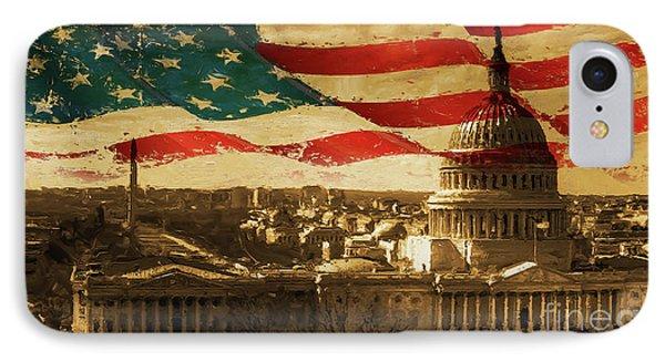 Washington Dc Usa 002 IPhone Case by Gull G