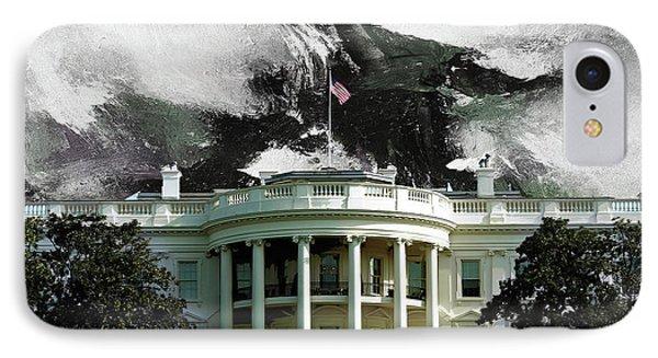 Washington Dc, White House IPhone Case by Gull G
