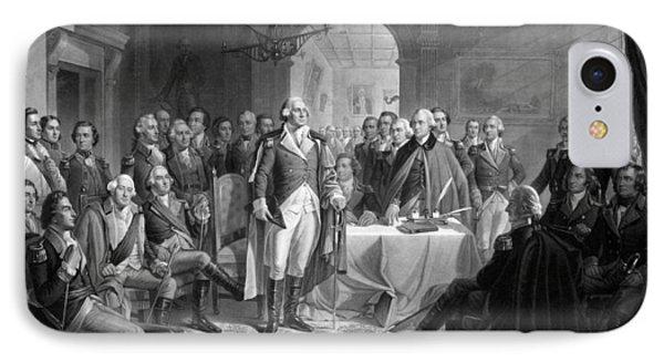Washington Meeting His Generals IPhone 7 Case