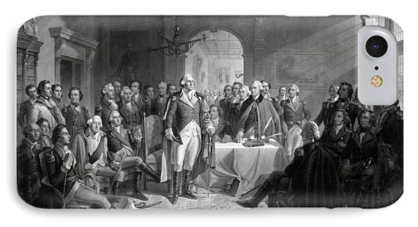 Washington Meeting His Generals IPhone 7 Case by War Is Hell Store
