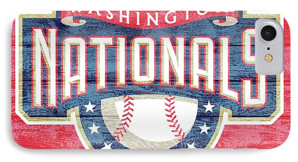 Washington Nationals Barn Door IPhone Case by Dan Sproul