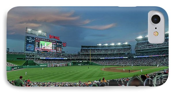 Washington D.c iPhone 7 Case - Washington Nationals In Our Nations Capitol by Thomas Marchessault