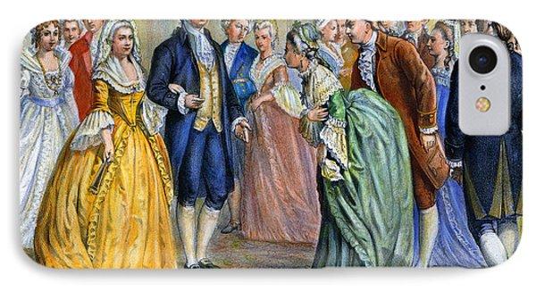 Washington Reception, 1789 Phone Case by Granger